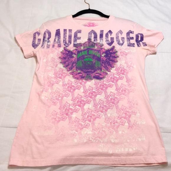8e91d4c4 grave digger Tops   Monster Jam Tshirt   Poshmark